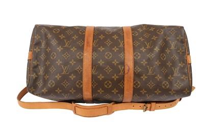 Lot 1245-Louis Vuitton Monogram Keepall Bandouliere 45