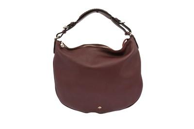 Lot 39-Mulberry Burgundy Hobo Shoulder Bag