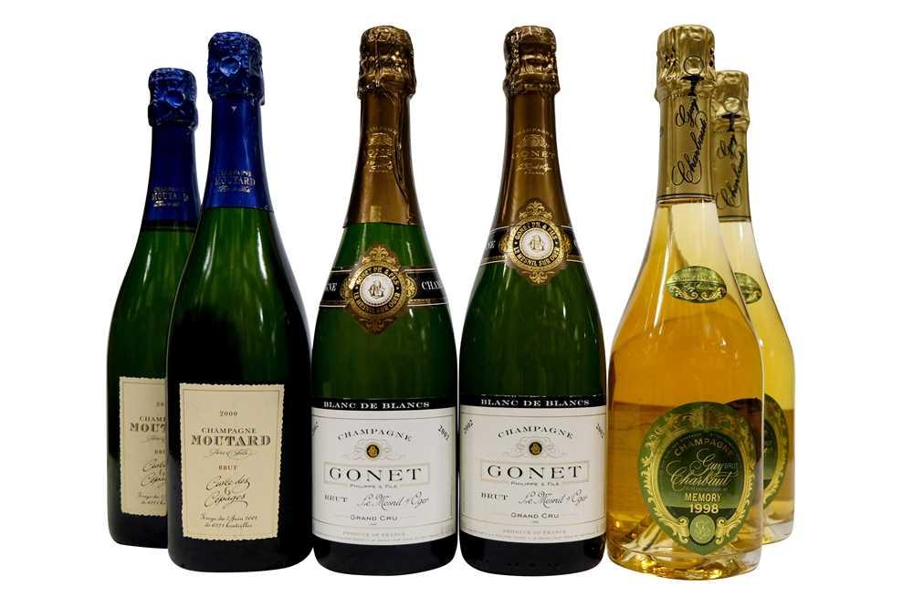 Lot 35-Assorted Vintage Champagne