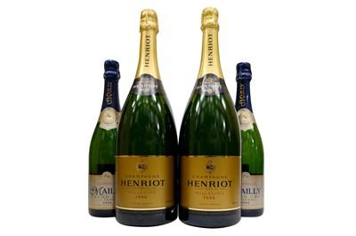 Lot 28-Assorted  Vintage 1996 Champagne