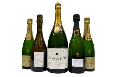 Lot 37-Assorted 2000s Champagne