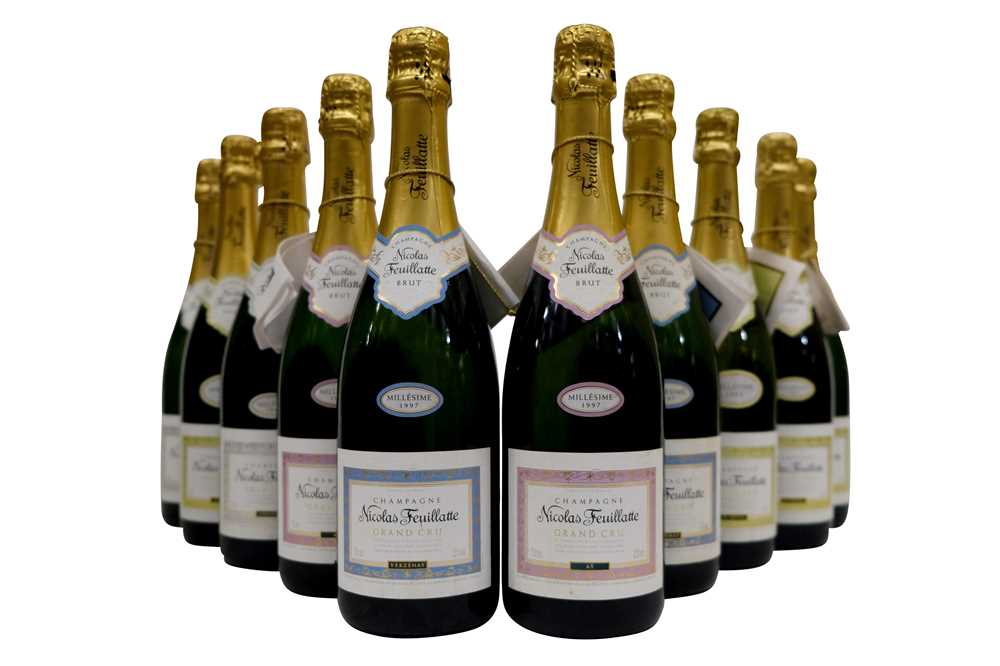 Lot 34-Mixed Champagnes of Nicolas Feuillatte
