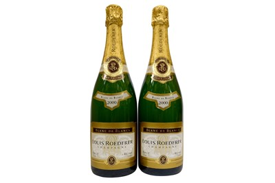 Lot 25-Louis Roederer Champagne 2000
