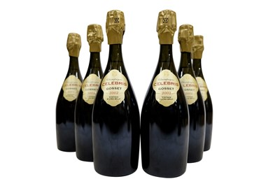 Lot 23-Gosset Champagne 2002