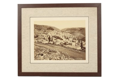 Lot 813-A SELECTION OF MIDDLE EASTERN VIEWS BY FELIX BONFILS (1831 - 1885)