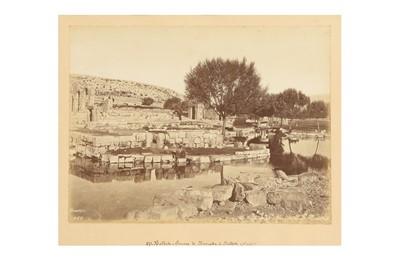 Lot 883-A SELECTION OF BALBECK VIEWS BY FELIX BONFILS (1831 - 1885)