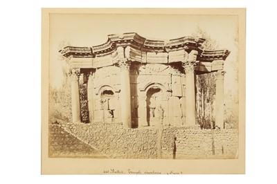 Lot 891-A COLLECTION OF ALBUMEN PRINTS BY FELIX BONFILS (1831 - 1885)