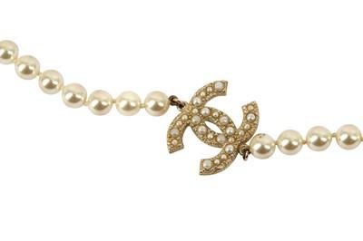 Lot 1205-Chanel CC Logo Sautoir Necklace