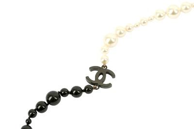 Lot 1206-Chanel CC Logo Sautoir Necklace