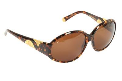 Lot 1283-Louis Vuitton Iris Tortoise Shell Sunglasses