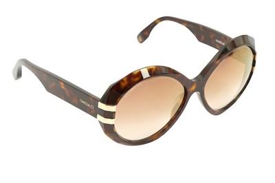 Lot 1284-Omega Round Havana Sunglasses