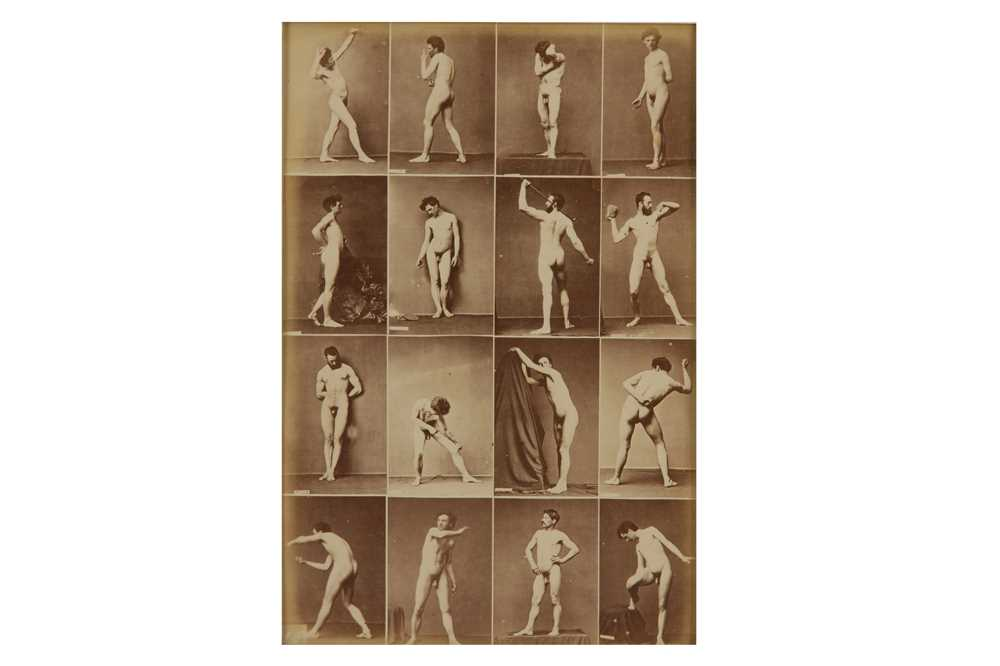 Lot 1013-Nude studies, c. 1880s