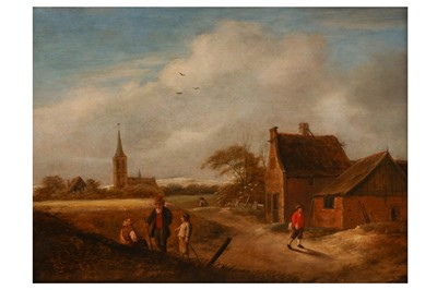 Lot 639-KLAES MOLENAER (HAARLEM c. 1630 - c. 1676)