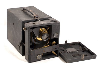 Lot 35-An Adams & Westlake 'Adlake Regular' Box Camera & another, Un-named.