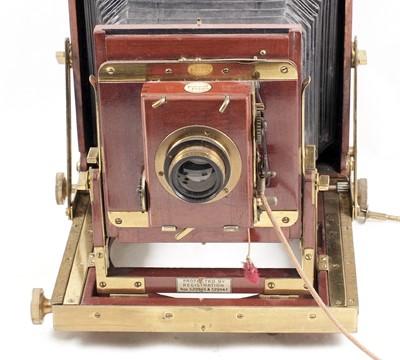 Lot 20-Thornton Pickard Triple Imperial Half Plate Camera