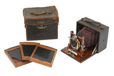 Lot 23-Wizard Special No. 91 Plate Camera