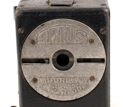 Lot 24-Aptus Ferrotype (Tin-Type) Camera by Moore & Co. Liverpool