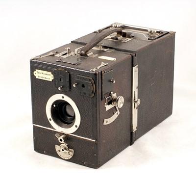 Lot 26-Rare Wunsche Kosmos Magazine Plate Camera