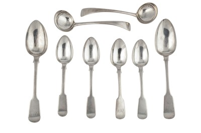 Lot 67-mixed group of sterling silver flatware