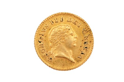 Lot 77-Third-Guinea, George III 1802, first laureate head right, R; crown with date below