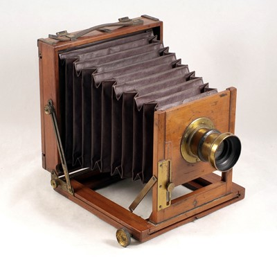 Lot 52-A Half-Plate Stanley Patent Tourist Field Camera