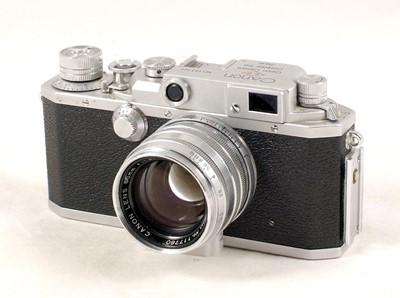 Lot 84-Canon Model IVSB Rangefinder Camera