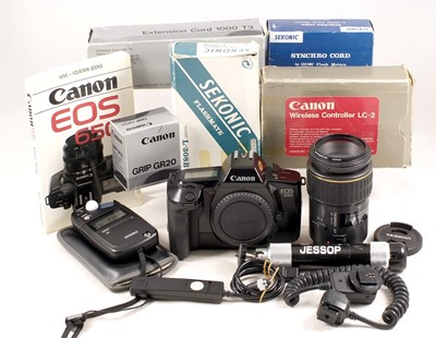 Lot 468-A Group of Canon Items, inc Tamron 90mm Macro Lens, EOS Fit