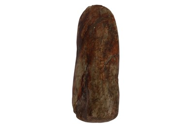 Lot 62-AN ANCIENT CHINESE PERIOD JADE AXE HEAD