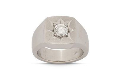 Lot 1230-A diamond ring