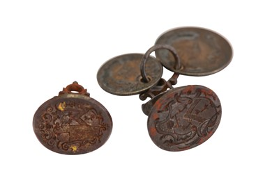 Lot 69-Bree Family Lot 69-74 – Two 18th century steel wax seals, circa 1750-80