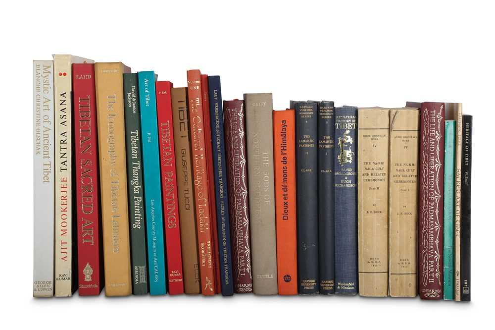 Lot 408 - A COLLECTION OF TWENTY TWO BOOKS ON TIBETAN ART.