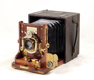 Lot 7-Quarter Plate Sinclair Una Hand & Stand Camera