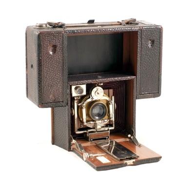 Lot 28-A Rare Rietzschel Clack Combined Roll Film/Plate Camera