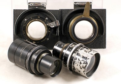 Lot 33-Peeling & Van Neck VN Press Camera Outfit with 3 Ross Lenses