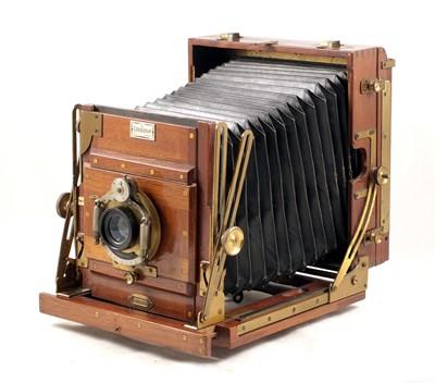 Lot 34-A Self-Erecting Sanderson 'Tropical Model' Half Plate Camera