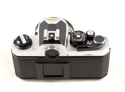 Lot 436-Chrome Nikon FM2n with Nikkor 50mm f1.8 Lens
