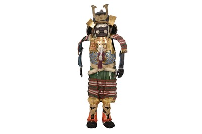 Lot 76-A MID-20TH CENTURY JAPANESE SUIT OF MINIATURE ARMOUR