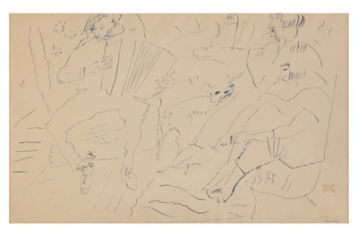 Lot 831-JULES PASCIN (FRENCH 1885 - 1930)