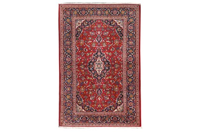 Lot 26-A VERY FINE KASHAN RUG, CENTRAL PERSIA