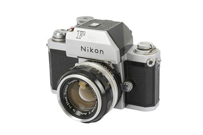 Lot 73-A Nikon F Photomic SLR Camera