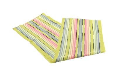 Lot 1235-Missoni Lime Green Stripe Scarf