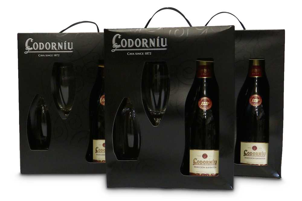 Lot 40-Codorniu Cava Giftpacks