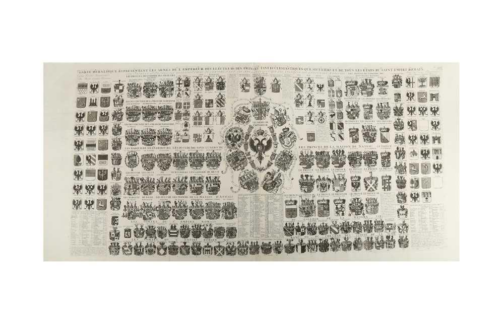 Lot 340-Heraldry.- Chatelain (Henry Abraham)