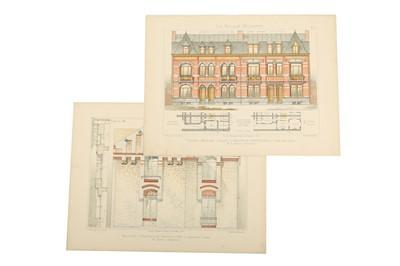 Lot 308-Architecture.- Rivoalen (E.)