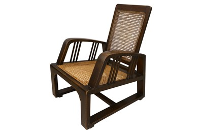 Lot 13-UNKNOWN: An Arts and Crafts chair, early 20th Century