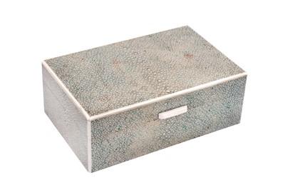Lot 39-Unknown - An Art Deco shagreen box