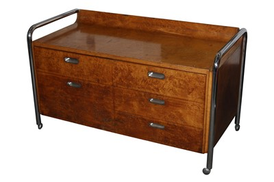 Lot 42-Unknown - Bauhaus credenza or sideboard
