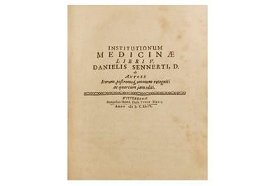 Lot 1013 - Medicine.- Sennert (Daniel)