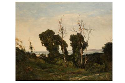 Lot 809-HENRI-JOSEPH HARPIGNIES (FRENCH 1819 - 1916)