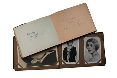 Lot 119-Autograph Albums.- Actors & Entertainers